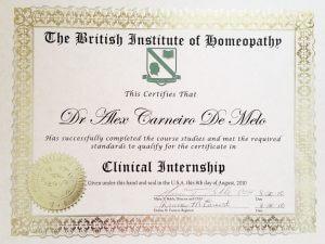 Clinical internship