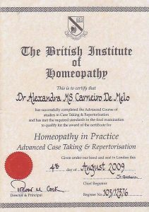 About me | Homeopathy in Practice